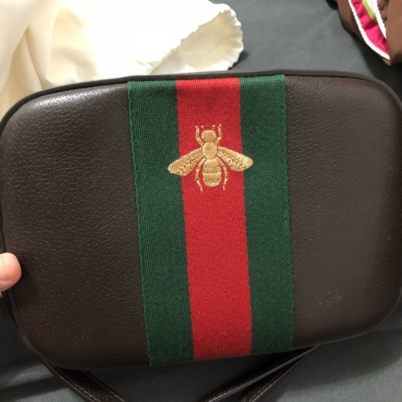 cdeccec5a80 Gucci Handbags -   make an offer  Gucci Bee Crossbody Camera bag